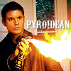 Teresa: SPN pyro by carmendove