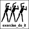 Exercise Bloggers - Just Do It!