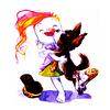 Delirium+ dog