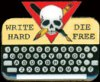 scarlettina: Write hard die free