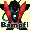 superhero bampf! xmen nightcrawler