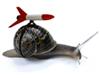 snail rocket, с ядерной боеголовкой