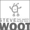 ljc: steve (the happy alien) sez woot