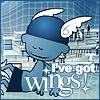 I've got wings!