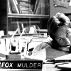 there's coffee in that nebula: x-files mulder bored