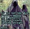Nazgul not Dementor