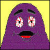 Grimace Is Stoned.