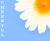 Patron Saint of Pessimism: Cheerful (Daisy)
