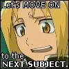 Edward Elric: Next Subject