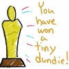you have won a tiny dundie