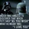 darth and fett -- princess bride