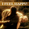 I feel happy!