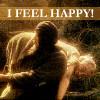I feel happy!