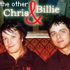 the procrastinator: the other chris & billie / icon by me