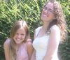 Elayna & Mommy laughing