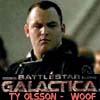 BattleStar Glactica - Ty Olsson WOOF