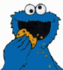 cookie monster (: