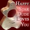 happy star dude
