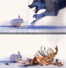 Here bunny-bunny-bunny...