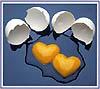 2 hearts 2 eggs