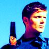 dean with gun