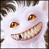 white zubastik