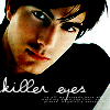 Mark: guy brandon routh eyes