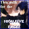 Bix: HIGH FIVE!