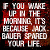 24- Jack Bauer in the morning