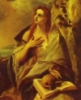 Mary Magdalene with skull and book