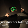 just another talking head