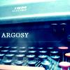 Argosy blue typewriter