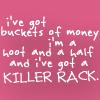 a killer rack