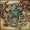 Never Ending Boredom: Tattoo - Serenity & Blue Star