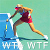 {tennis} volley on the baseline?
