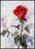 rose, painting