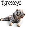 tigresseye, white