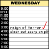 elexandros: my daily planner