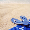blue flip flops by icon_goddess