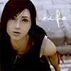 Tifa looking up