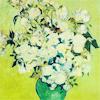 [van gogh] green vase