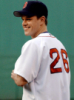 red sox uniform smile
