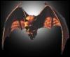winged skull, vampire, predator