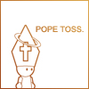 pope toss