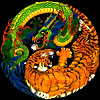 Yin Yang Tiger Dragon