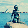 """Relax. Remember fish. Just Float."": Denmark: The Little Mermaid"