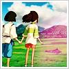 Kohaku and Chihiro