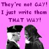 Not Gay!
