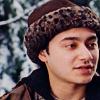 Felix in a fur lined cap