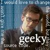 Usaku (aka Leliel): Geek.